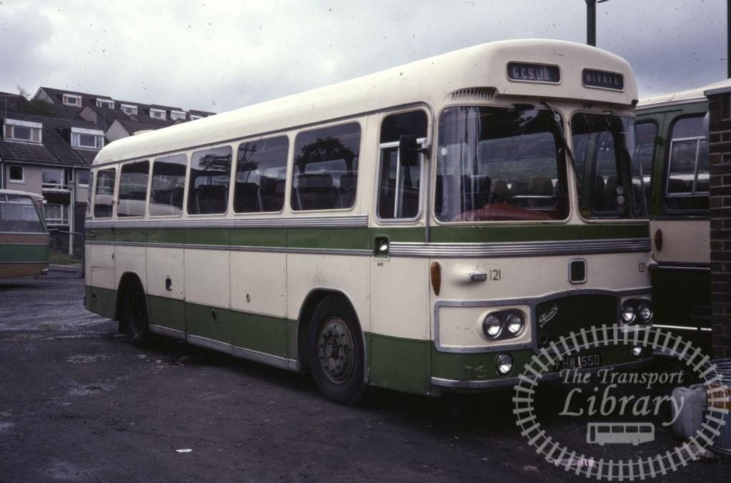 Garelochhead Coach Services Bristol MW 121 FHW55D in 1978 on route Unknown - Ron Wellings