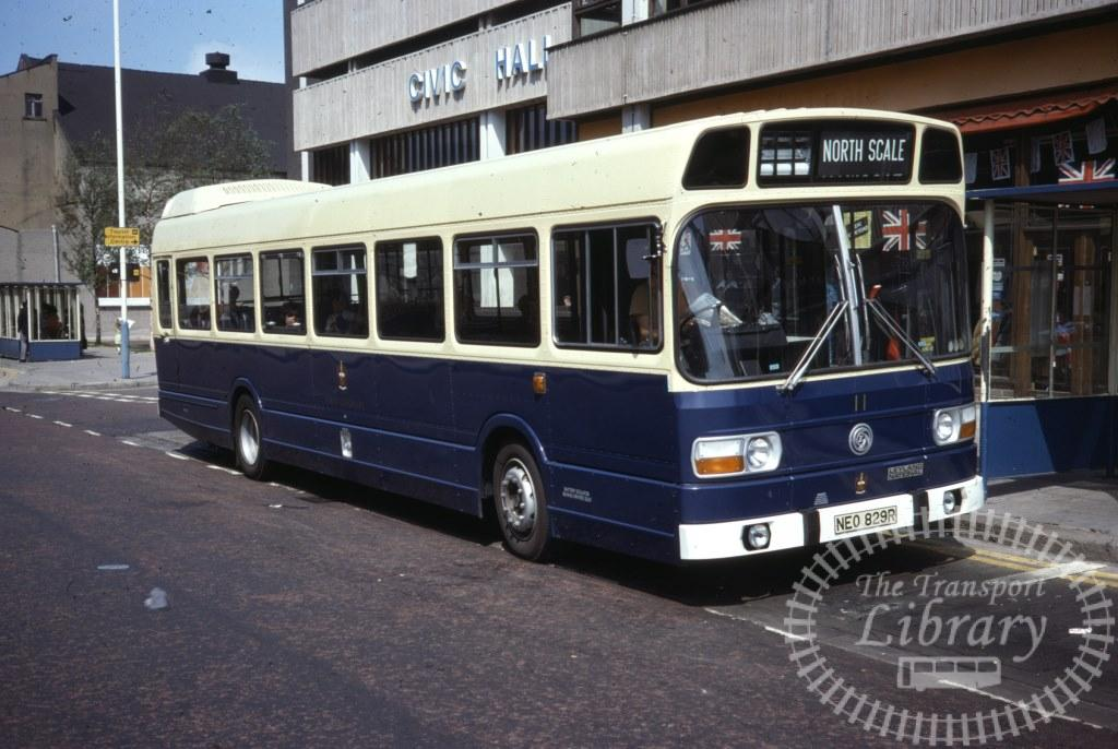 Barrow Leyland National 11 NEO829R in 1977 on route Unknown - 31/07/1977 - Ron Wellings