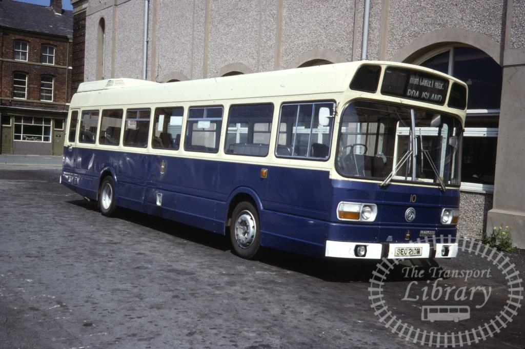 Barrow Leyland National 10 SEO210M in 1977 on route Unknown - 31/07/1977 - Ron Wellings