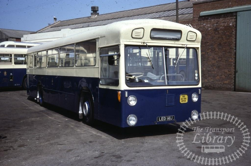 Barrow Daimler Fleetline 1 LEO141J in 1977 on route Unknown - 31/07/1977 - Ron Wellings