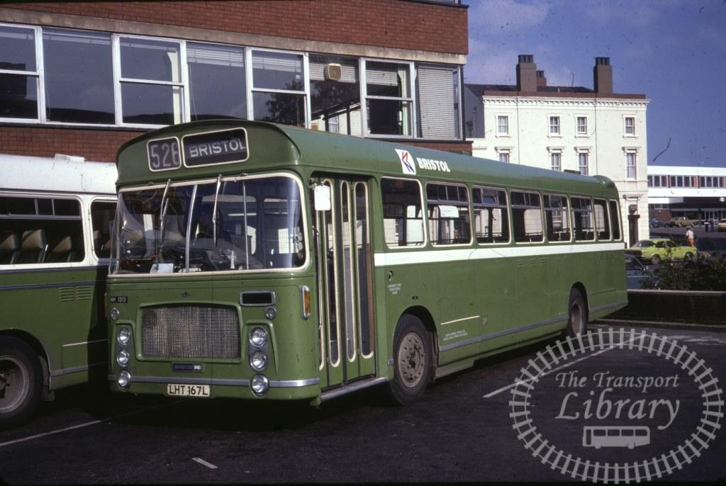 Bristol Bristol RE 1313 LHT167L in 1978 on route 526 - 16/09/1978 - Ron Wellings