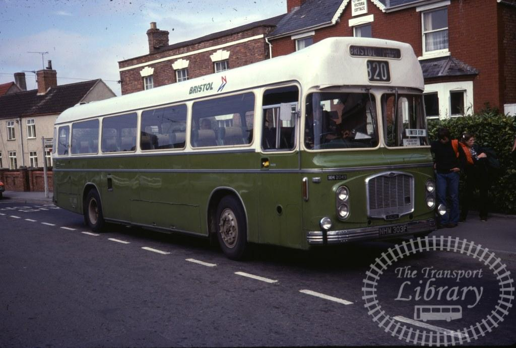 Bristol Bristol RELH 2049 NHW303F in 1978 on route 320 - 16/09/1978 - Ron Wellings