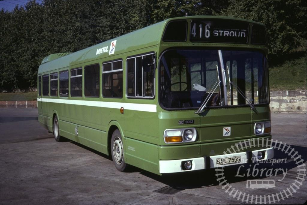 Bristol Leyland National 3052 SAE755S in 1978 on route 416 - 16/09/1978 - Ron Wellings