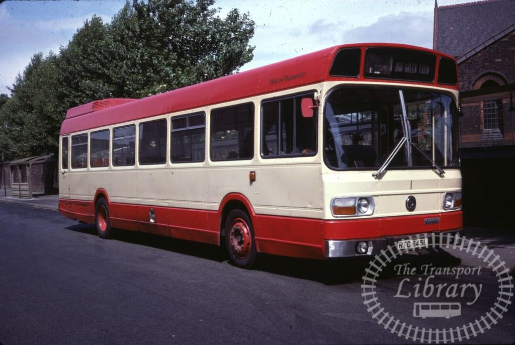 Halton Transport Leyland National RTC645L in 1978 on route Unknown - 28/06/1978 - Ron Wellings