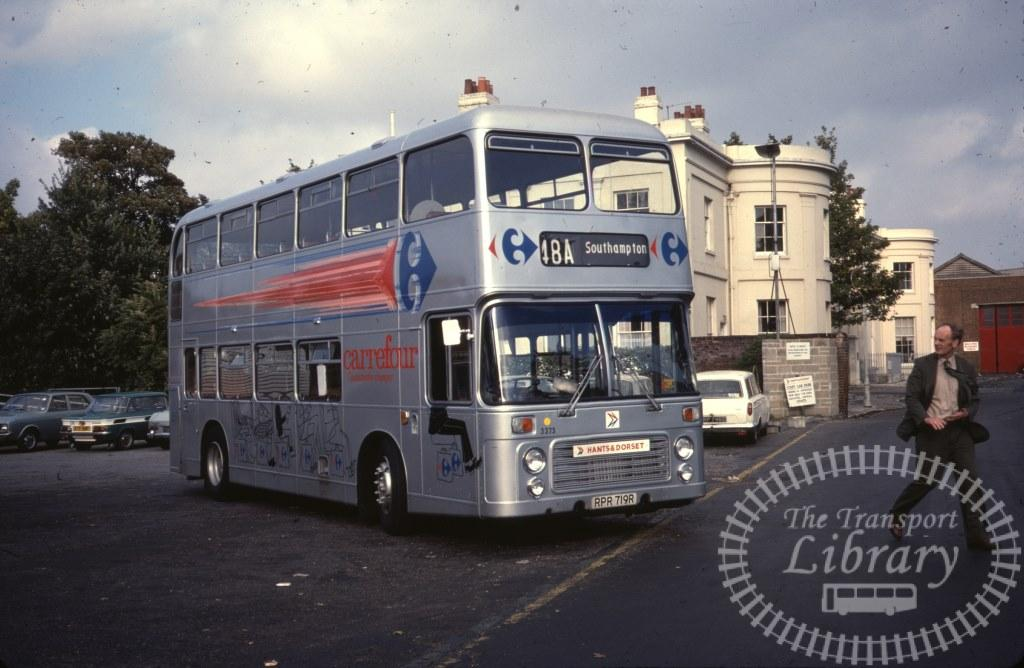Hants and Dorset Bristol VR 3373 RPR719R in 1978 on route 48A - 24/09/1978 - Ron Wellings
