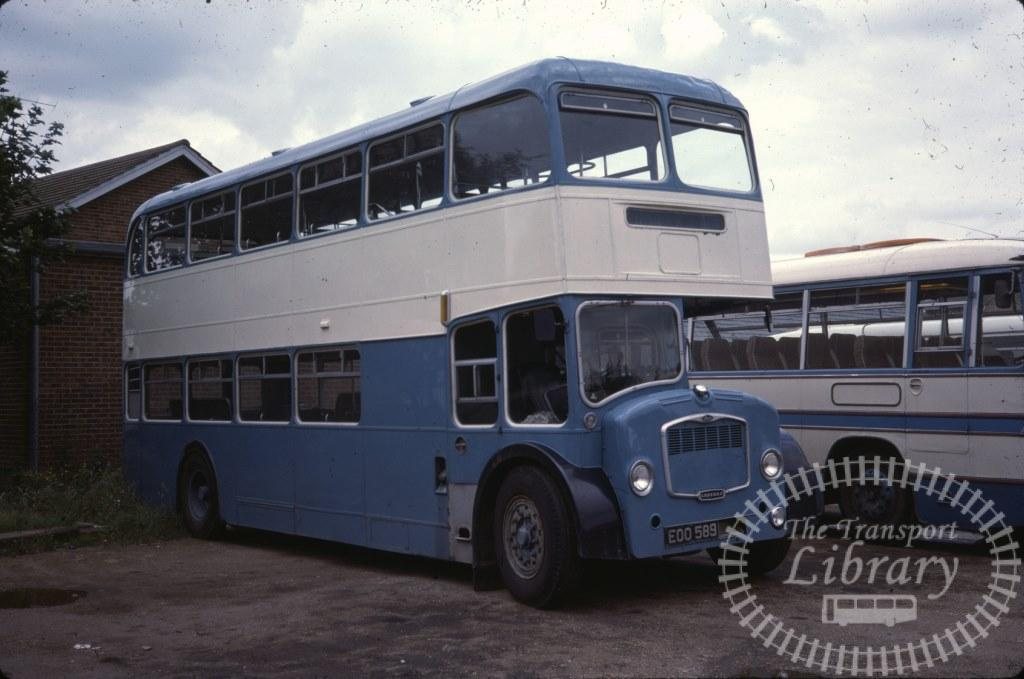 Canhams of Whittlesey Bristol Lodekka EOO589 in 1978 on route Unknown - 17/08/1978 - Ron Wellings