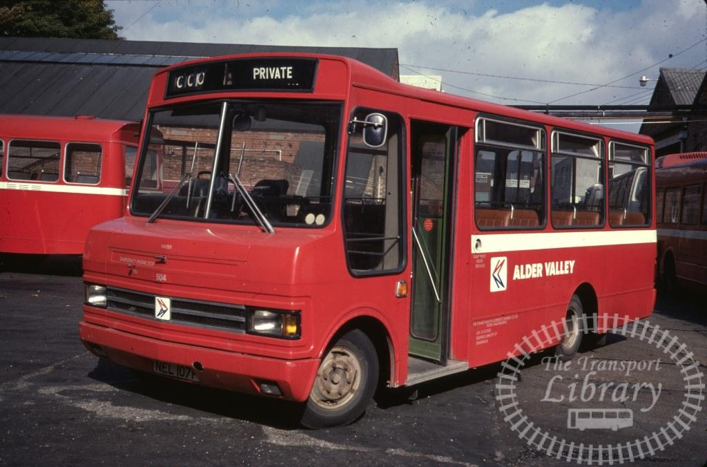Alder Valley Ford A0609 504 NEL107P in 1978 on route Unknown - 24/09/1978 - Ron Wellings