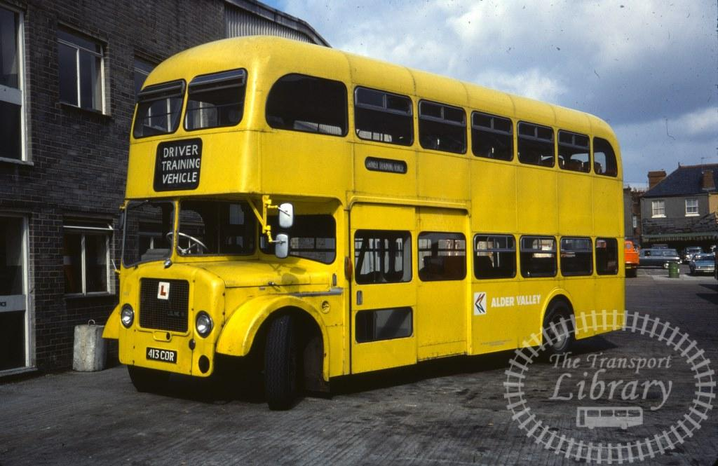 Alder Valley Dennis Loline 1105 413COR in 1978 on route Unknown - 24/08/1978 - Ron Wellings