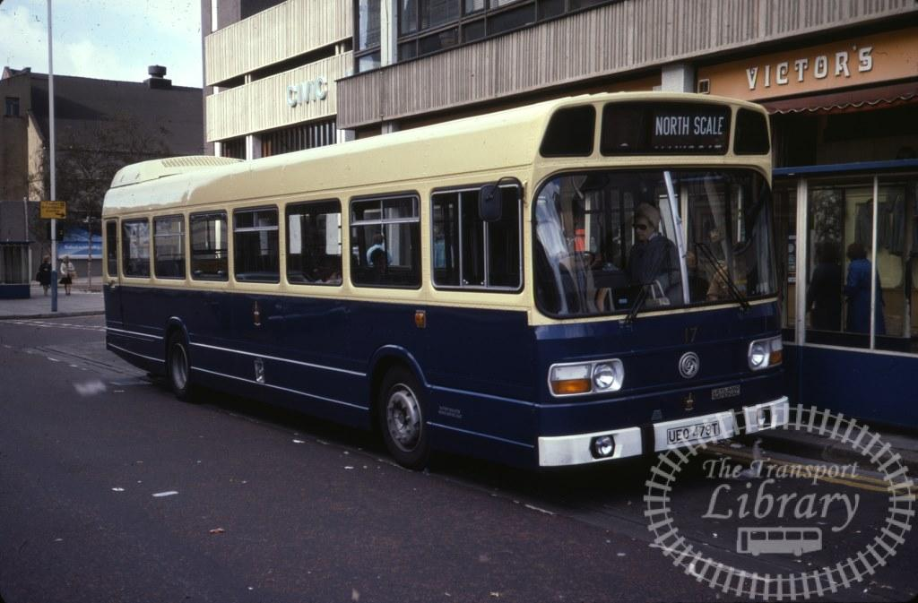 Barrow Leyland National 17 UEO479T in 1978 on route Unknown - 25/09/1978 - Ron Wellings
