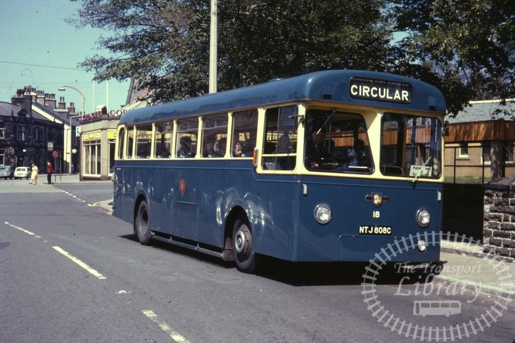 Haslingden Leyland L1 18 NTJ808C in 1966 on route Unknown - 28/05/1966 - Ron Wellings