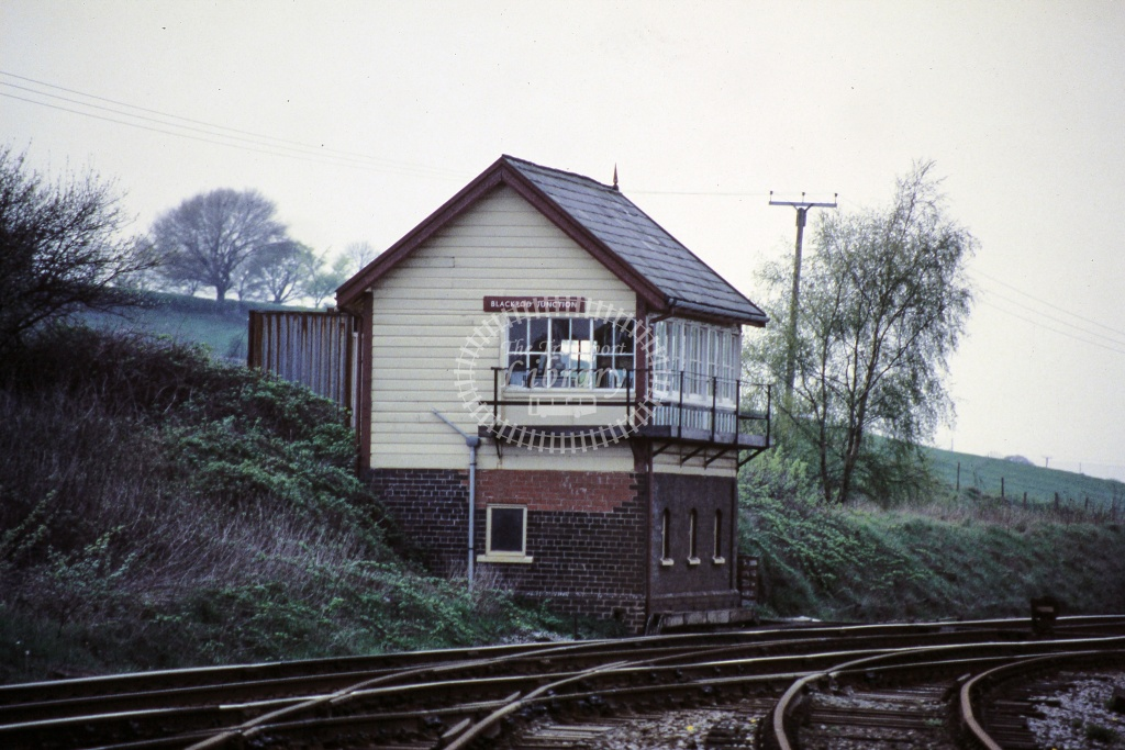 BR British Rail Signal Box - Blackrod Junction May 1994