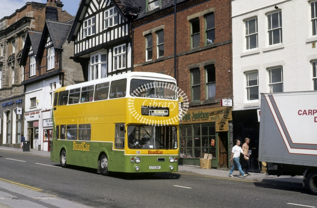 Lincolnshire Road Car Leyland AN68 1311 ETO991V  in 1989 - Aug - Roy Marshall