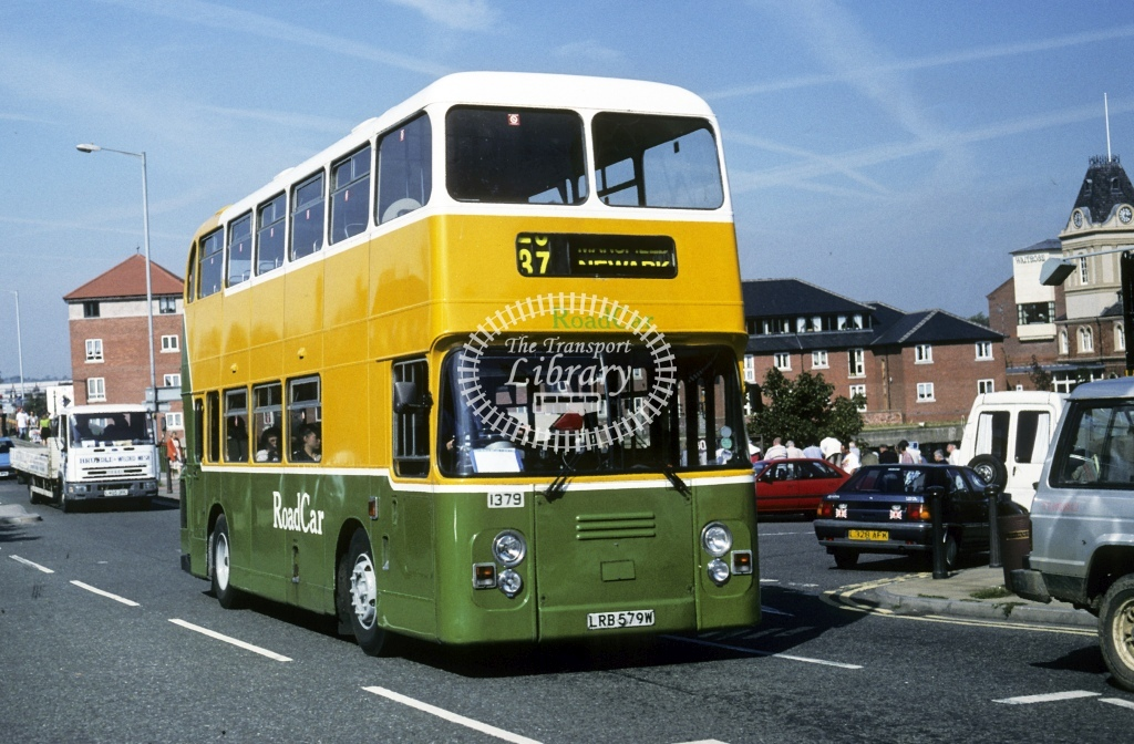 Lincolnshire Road Car Leyland AN68 1379 LRB579W  at Newark  in 1997 - Sep - Roy Marshall