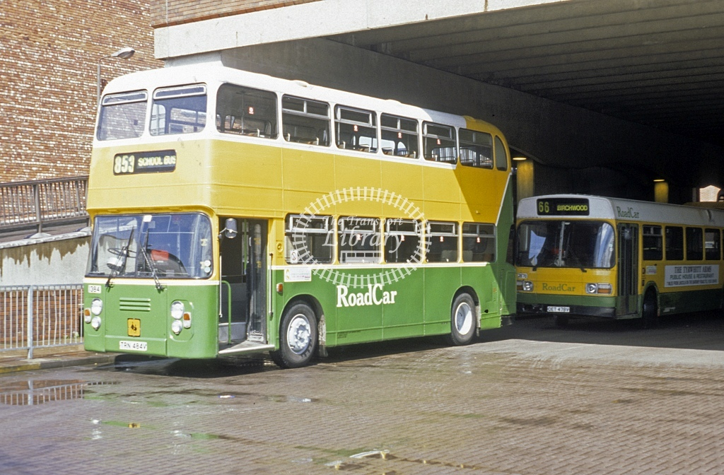 Lincolnshire Road Car Leyland AN68 1384 TRN484V  at Lincoln   in 1996 - Apr - Roy Marshall