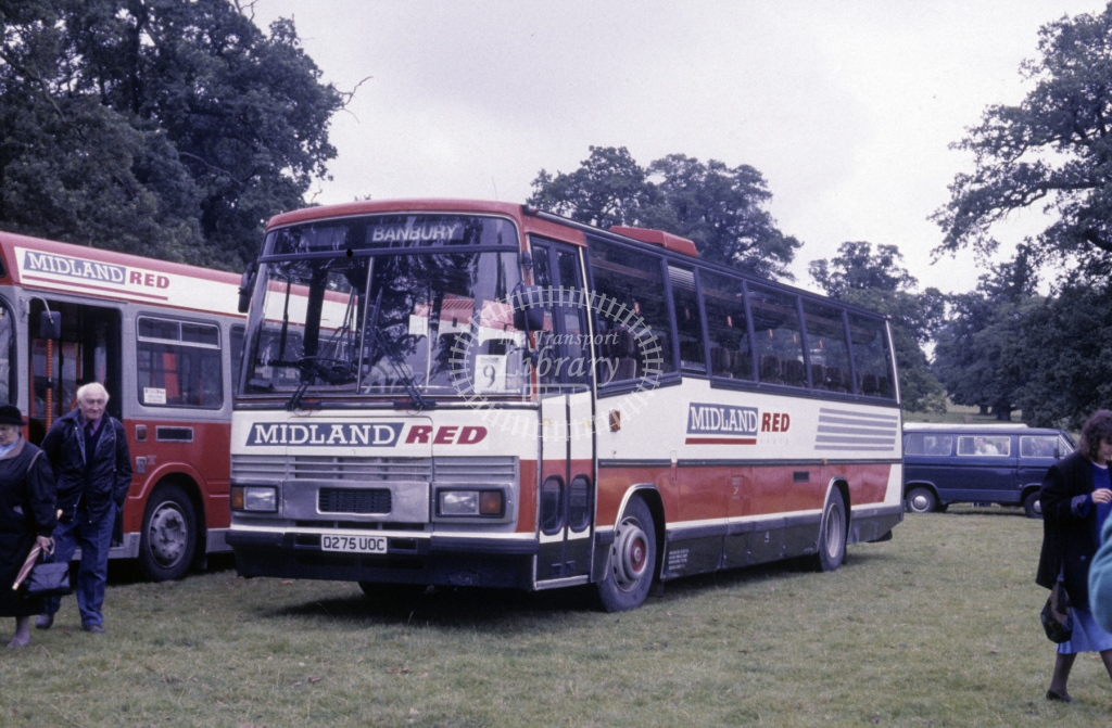 Midland Red South Leyland PSU3C 3 Q275UOC  at Woburn Rally  in 1991 -  Sep  - Roy Marshall