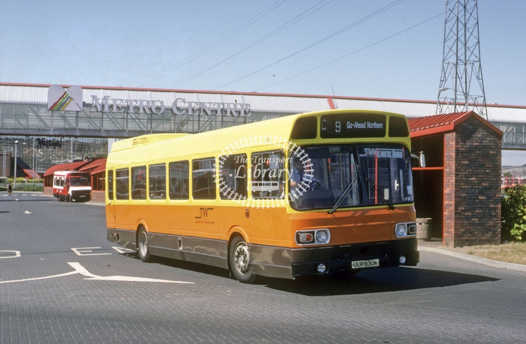 Northern General Leyland National 4748 UUP830K  at Metro Centre  in 1990 - Aug - Roy Marshall