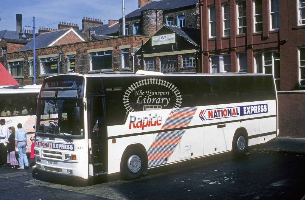 Northern General Leyland TRCTL 7032 F32LCU  at Leeds  in 1990 - May - Roy Marshall