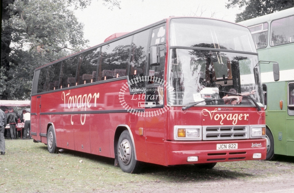 Northern General Leyland TRCTL 7038 JCN822  at Woburn Rally  in 1992 - Sep - Roy Marshall
