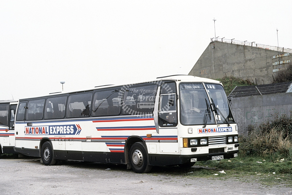 Trent Leyland TRCTL 7 A707CNU  at Blackpool  in 1997 - Oct - Roy Marshall