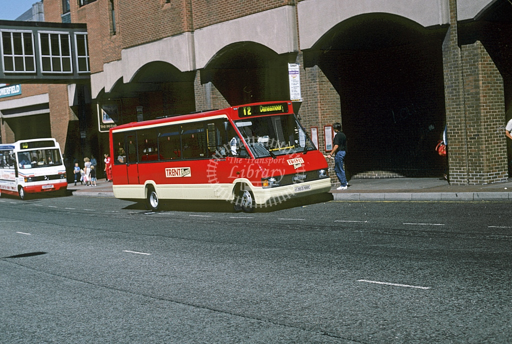 Trent Optare MR15 203 N203VRC  at Chesterfield  in 1995 - Aug - Roy Marshall
