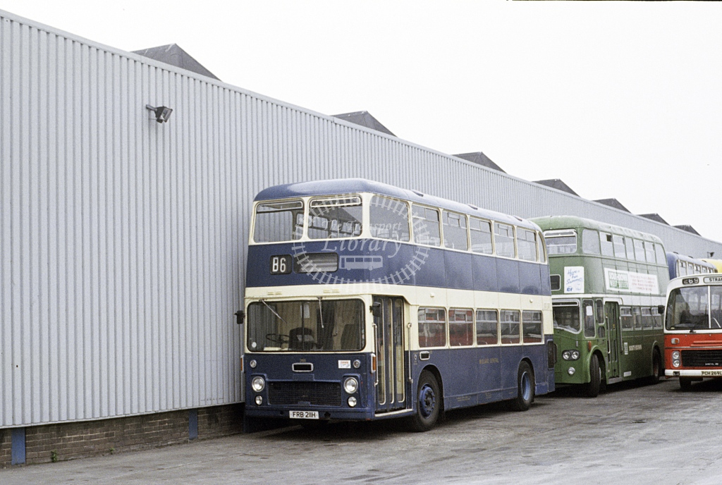 Trent Bristol VRTSL 761 FRB211H  at Depot/Garage  in 1988 - Jun - Roy Marshall
