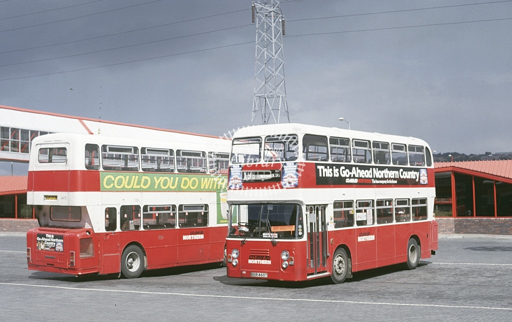 Northern General Leyland AN68 346 MBR460T  at Metro City  in 1987 - Aug - Roy Marshall