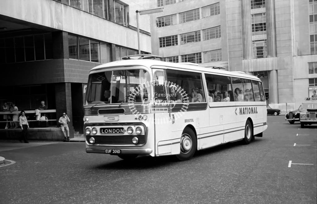 Bristol Leyland Leopard NUD101L at Victoria in Circa 1974 on route Unknown - Vic Zealey
