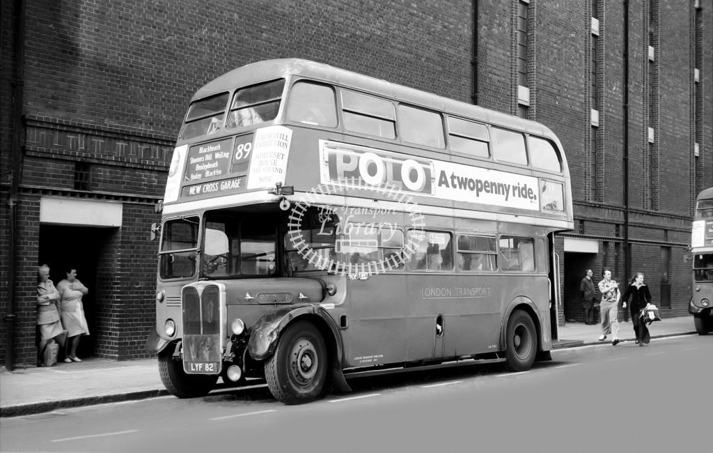 London Transport Aec Routemaster Class Rm Rm1229 229clt At